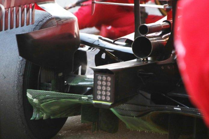 Detalle trasero del Ferrari SF1000