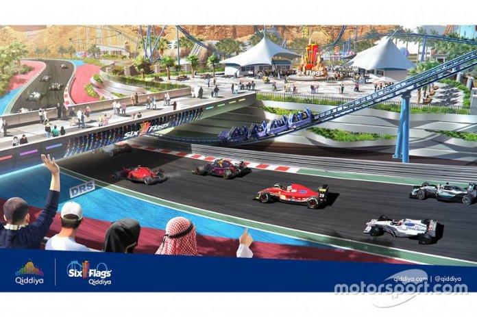 Presentación del Qiddiya Grand Prix