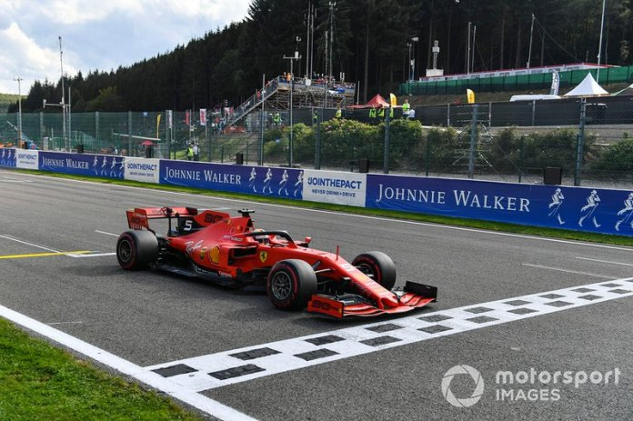 Sebastian Vettel, GP de Bélgica