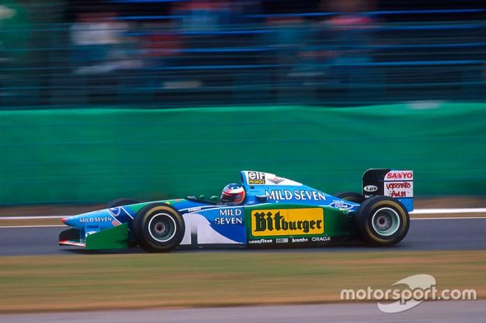 1994: su primer mundial de F1