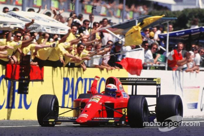 1990: Ferrari F1-90 (Ferrari 641)