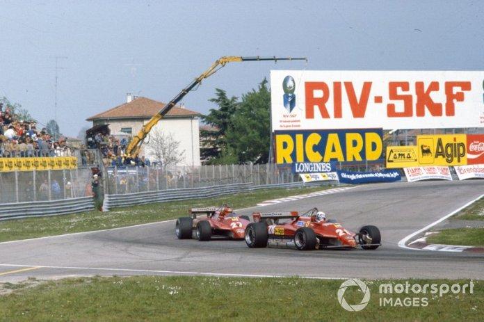 La traición de Pironi a Villeneuve, San Marino 1982