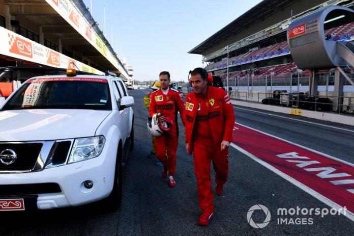 Sebastian Vettel, Ferrari vuelve al garaje