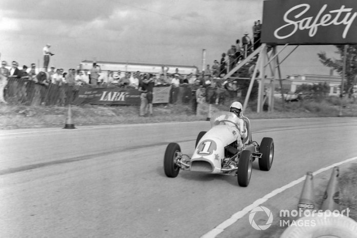 Sebring, 12 de diciembre de 1959: Rodger Ward, Kurtis Kraft Offenhauser