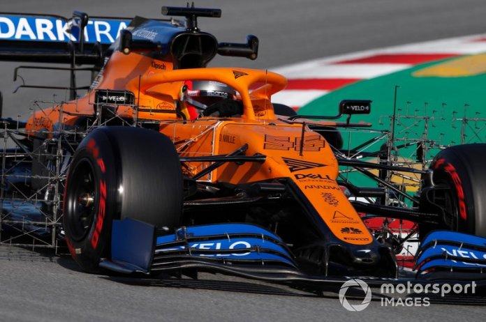 8º Carlos Sainz, McLaren MCL35: 1:16.820 (con neumáticos C4)