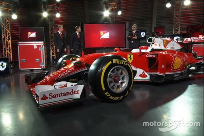 Presentación de la Ferrari SF16-H de 2016