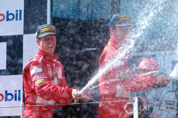 More victories in the same GP: 8