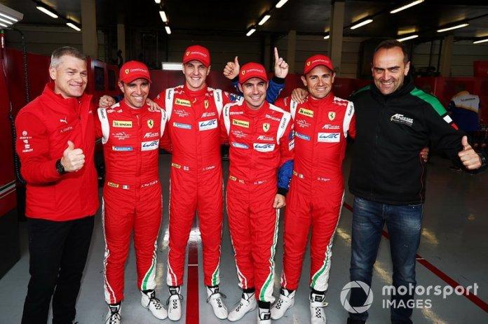 # 71 AF Corse Ferrari 488 GTE EVO: Davide Rigon, Miguel Molina and # 51 AF Corse Ferrari 488 GTE EVO: Alessandro Pier Guidi, James Calado