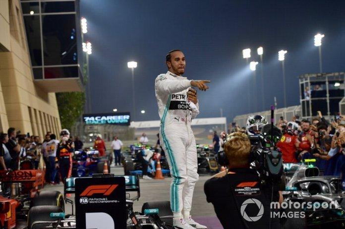 GP de Bahréin, Lewis Hamilton, Mercedes