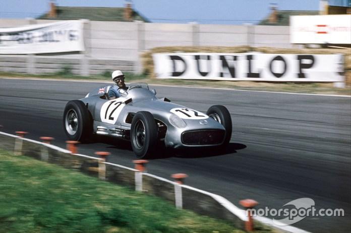 12: Stirling Moss, Mercedes Benz W196