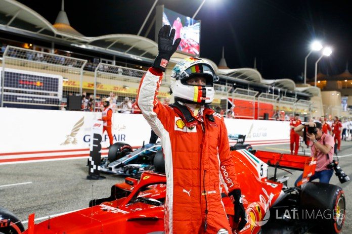 Bahréin 2018: Vettel, líder del mundial, en su primera pole del año.