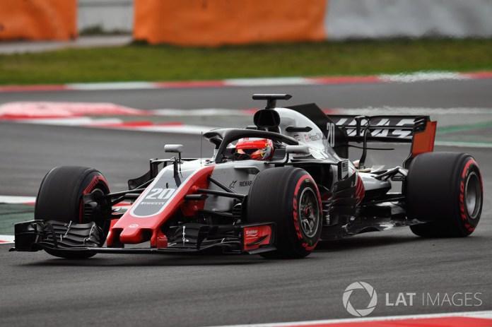 Haas VF-18 y Ferrari SF70 H