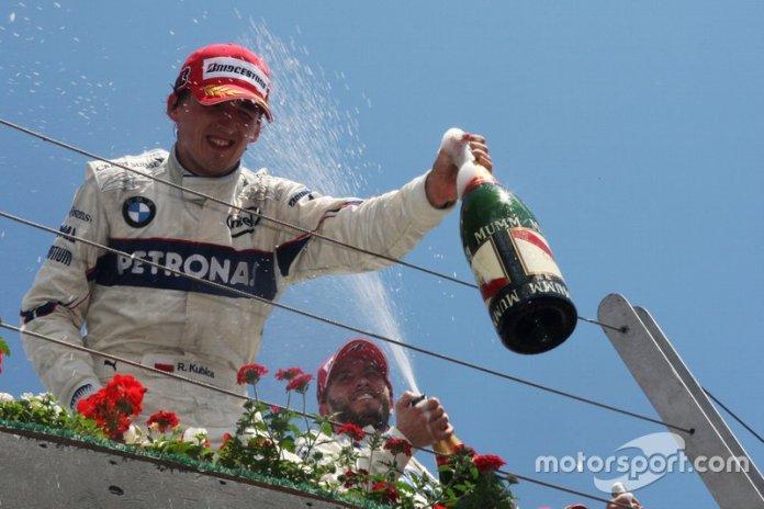 8- Robert Kubica, 23 años, 6 meses y 1 día en el GP de Canadá 2008