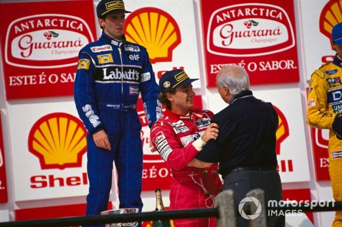 """""""Senna fue el único que alguna vez me pidió un consejo"""". Juan Manuel Fangio"""