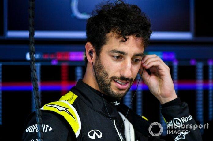 7.- Daniel Ricciardo, Renault F1 Team