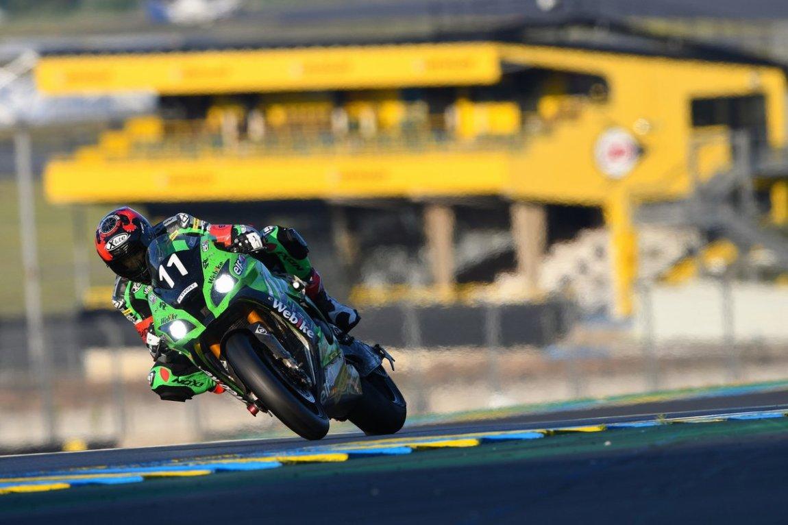 # 11 SRC Kawasaki France: Jeremy Guarnoni, Erwan Nigon, David Checa