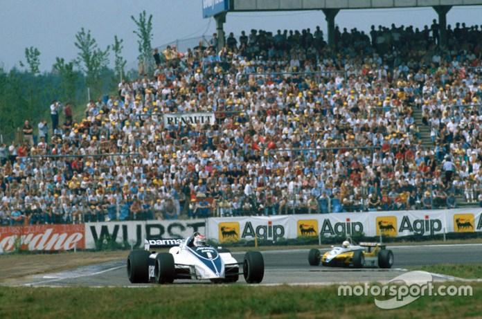 En el GP de Alemania de 1982 tuvo lugar el famoso episodio de la pelea entre el brasileño Nelson Piquet y el chileno Eliseo Salazar. El brasileño lideraba la carrera y al alcanzar al chileno y al tratar de rebasarlo, este no dio espacio y el auto ATS del brasileño se fue a impactar con el muro de los neumáticos quedando los dos fuera de la carrera. Cuando salió del auto, Nelson enojado corrió hacia Salazar para reclamarle y propinarle algunos golpes. La imágen es ahora memorable en los archivos de la F1.