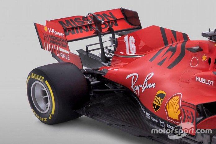 Ferrari SF1000, detalle técnico