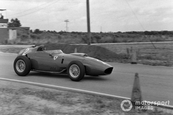 Sebring, 12 de diciembre de 1959: Tony Brooks, Ferrari 246