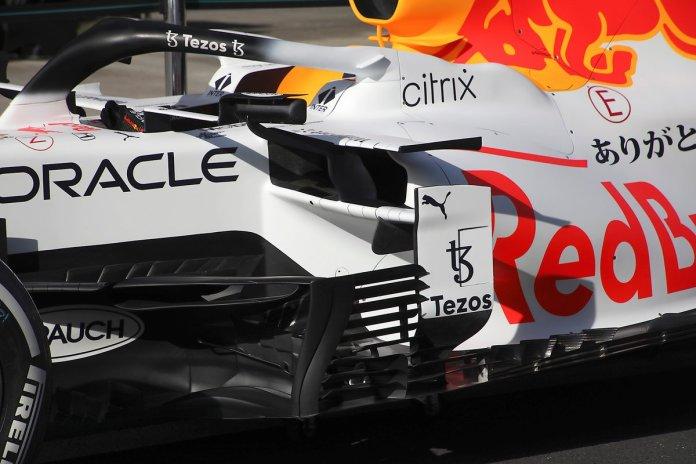 Placa de barcaça Red Bull Racing RB16B