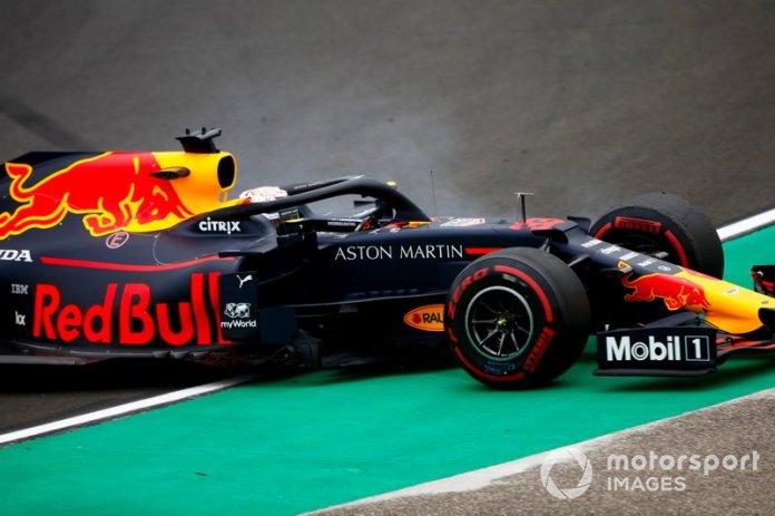 Trompo de Max Verstappen, Red Bull Racing RB15