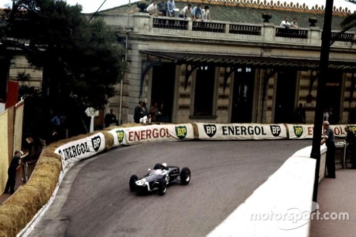 Stirling Moss, Lotus-Climax, GP de Mónaco de 1960