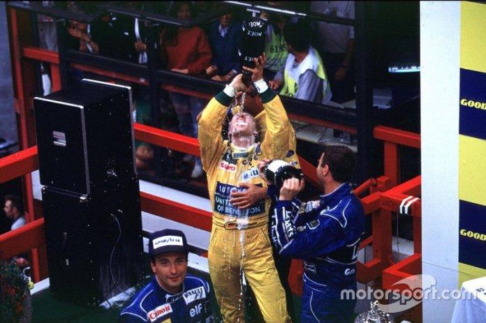 Mayor número de podios en la F1: 155