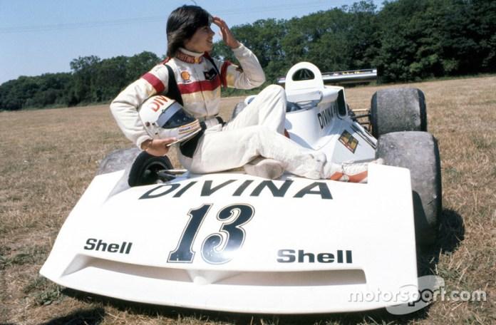 Divina Galica (ShellSport/Whiting Surtess TS16), GP de la Gran Bretaña 1976.