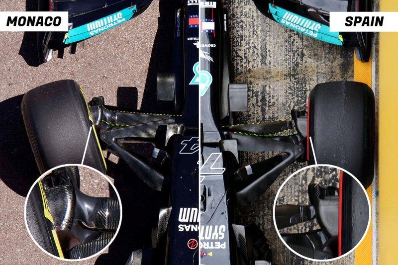 MERCEDES W12 comparison