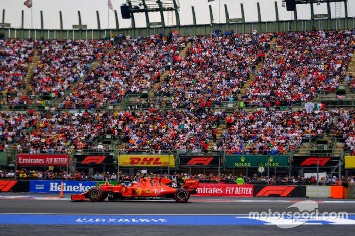 Charles Leclerc, GP de México