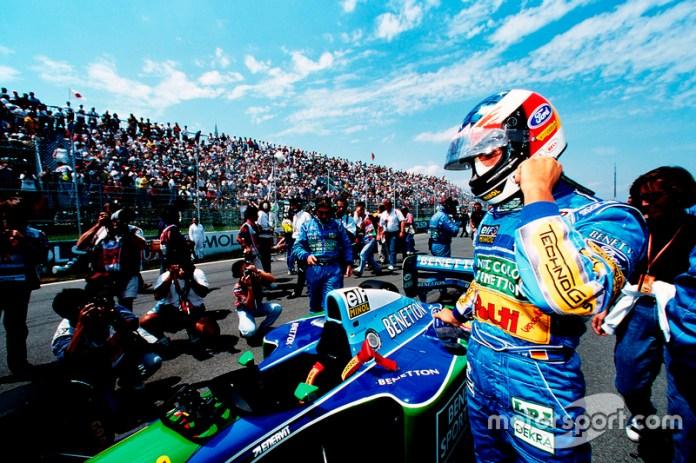 1994: otro casco de Schumacher en Benetton