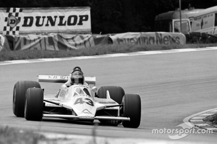 Desire Wilson, GP de la Gran Bretaña 1980.