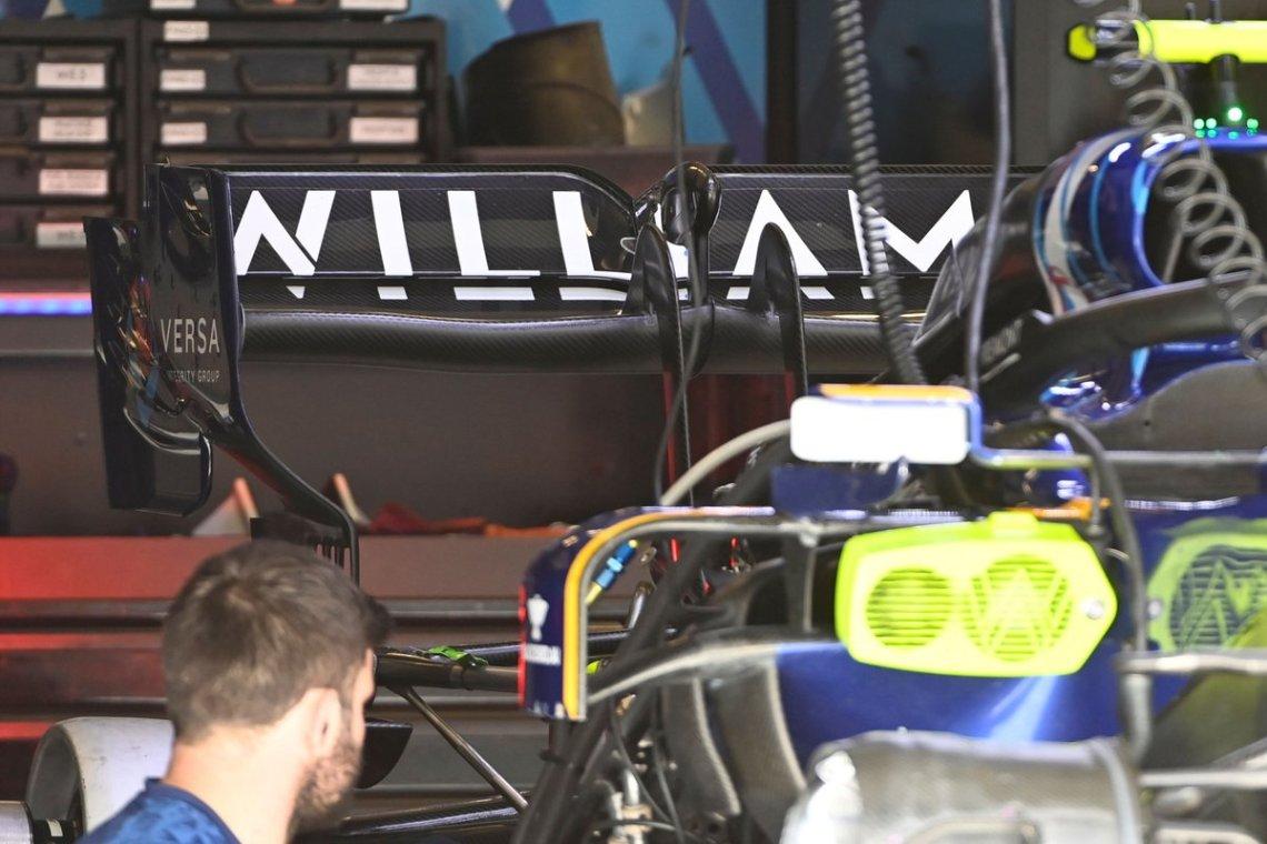 Williams FW43B detail