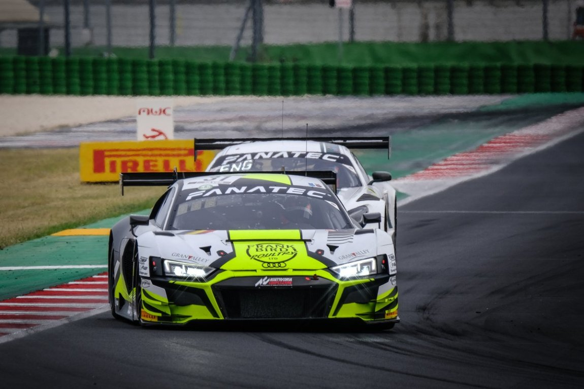 # 31 Team WRT Audi R8 LMS GT3: Frank Bird, Ryuichiro Tomita
