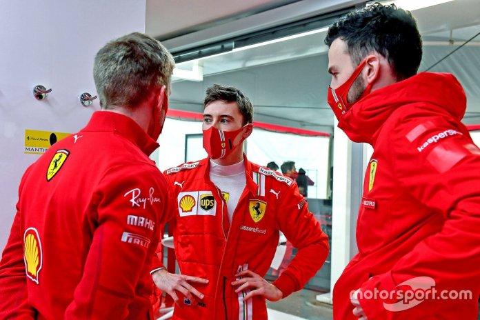 Marcus Armstrong, Ferrari