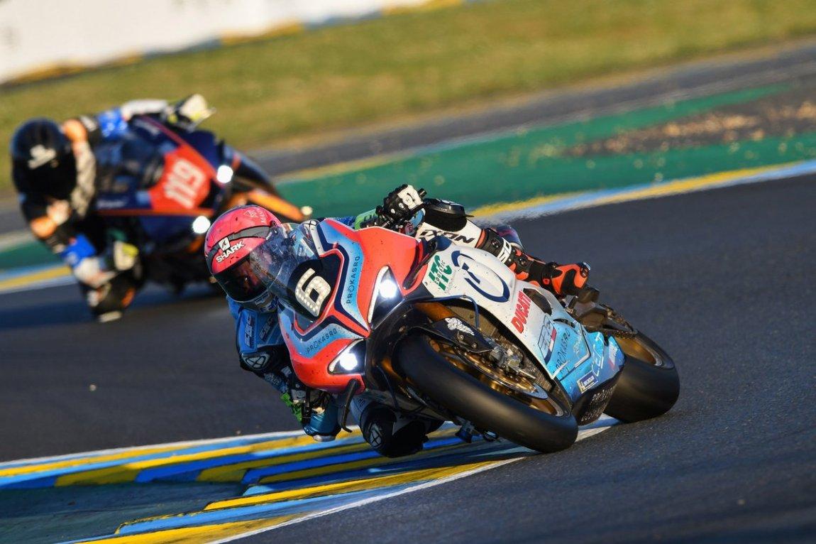 # 6 Endurance Ducati: Mathieu Gines, Louis Rossi, Etienne Masson