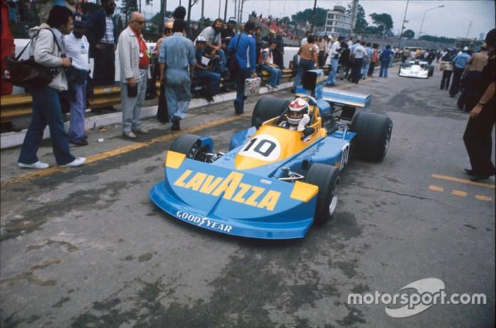 Lella Lombardi, March 761 Ford, GP de Brasil 1976.
