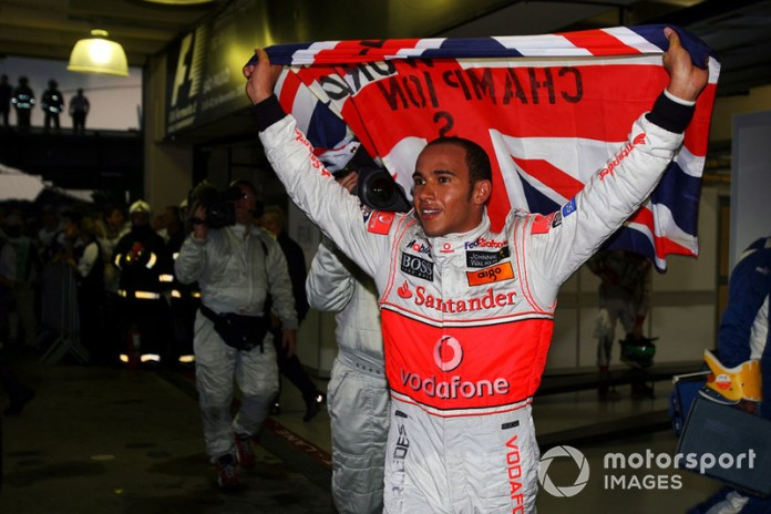 Lewis Hamilton con McLaren