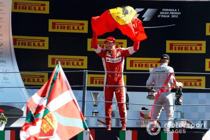 Italia 2015: su mejor resultado con Ferrari en Monza, P2.