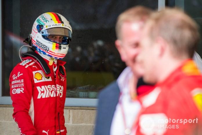 Estados Unidos 2018: la única victoria de Kimi Raikkonen con Vettel como compañero de equipo.