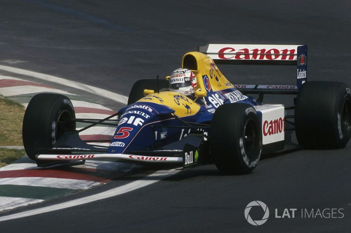 Nigel Mansell, Williams-Renault FW14B, 1992