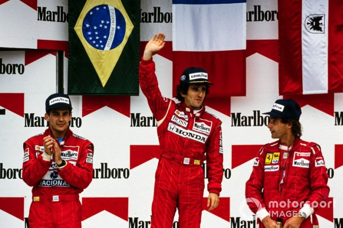 14. GP de México 1988: Alain Prost y Ayrton Senna (McLaren)