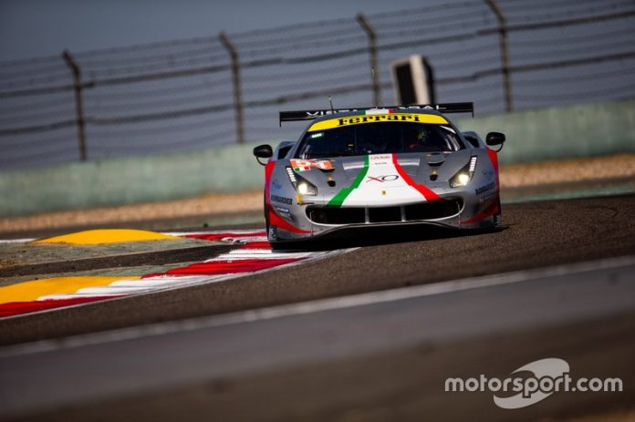 # 54 AF Corse Ferrari 488 GTE Evo: Thomas Flohr, Francesco Castellacci, Giancarlo Fisichella