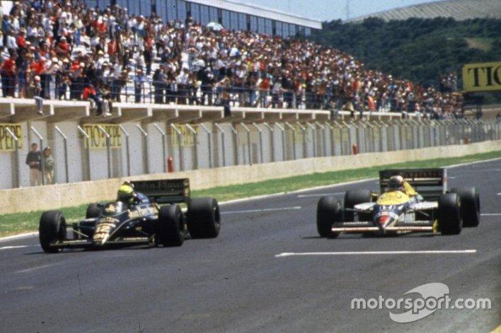 3. Senna vs Mansell (Spain 1986)