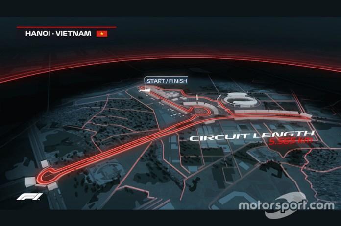 Mientras Vietnam llega a la Fórmula 1...