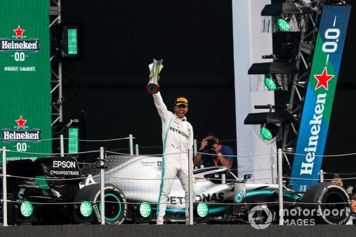 83 GP de México 2019, Mercedes