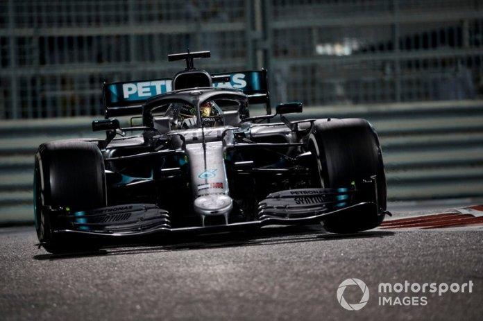 Lewis Hamilton, GP de Abu Dhabi
