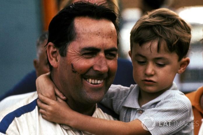 Le vainqueur Jack Brabham