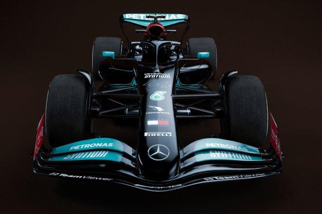 Mercedes 2022 F1 car