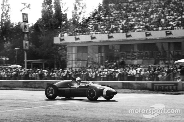 Stirling Moss, Cooper-Climax, GP de Italia de 1959
